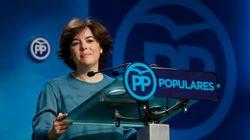 Soraya Sáenz de Santamaría pide una lista de unidad para el Congreso del