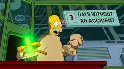Homer Simpson y la próxima