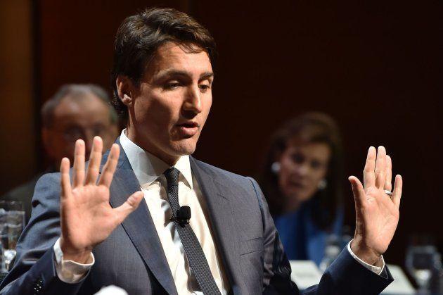 Imagen de archivo del primer ministro canadiense, Justin