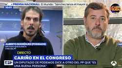 El reencuentro de los diputados de PP y Podemos tras las palabras que han dado la vuelta a