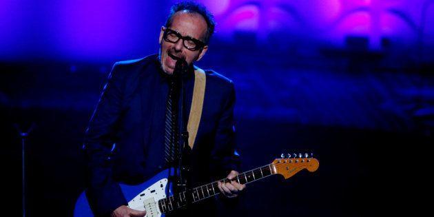 El cantante Elvis Costello durante una actuación en Nueva York en junio de