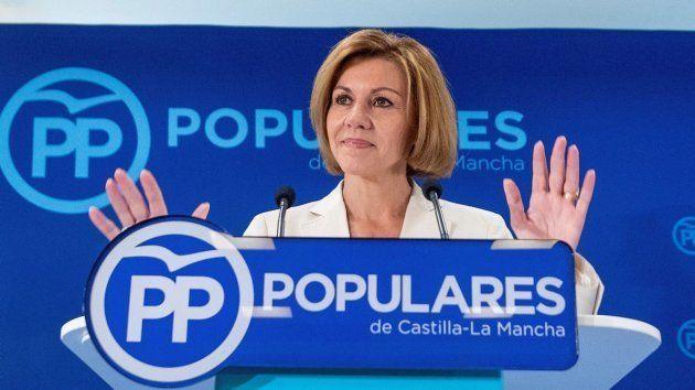 Cospedal, la mujer fuerte del partido que no logró convencer a la