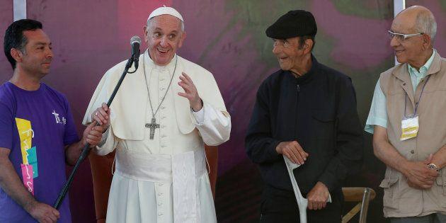 El Papa se reúne con víctimas de abusos sexuales por parte de clérigos en