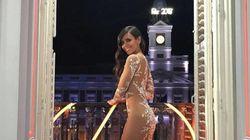 Cristina Pedroche revela la primera sorpresa de su vestido de