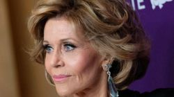 El inesperado contratiempo de Jane Fonda con su vestido que más se está