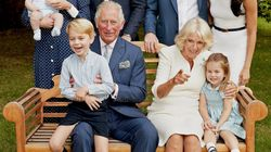 El príncipe Jorge hace el gamberro en la felicitación navideña de los duques de