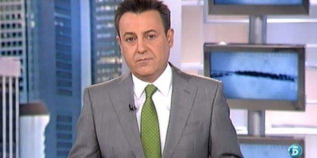 José Ribagorda, presentador de 'Informativos Fin de Semana' de