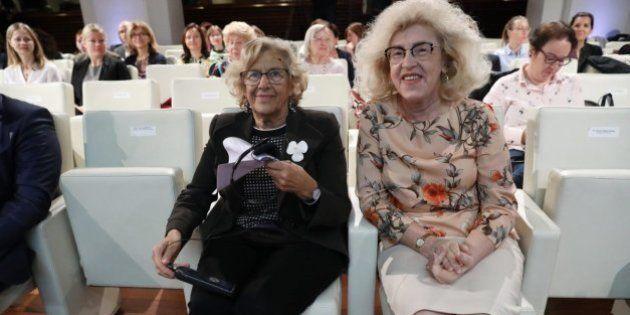 Marzenna Adamczyk y Manuela