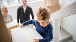 Mudanzas: ocho formas de ayudar a los niños con los