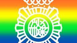 La Policía Nacional cambia su escudo por el Orgullo y lo que pasa después nos avergüenza a