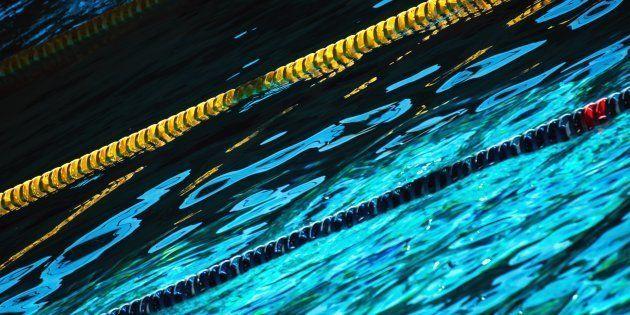 corsie di una piscina