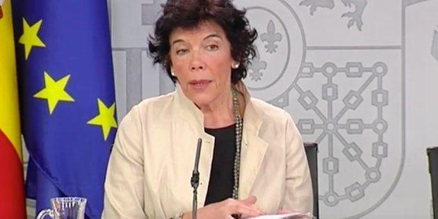 Isabel Celaá, ministra de Educación y Portavoz del