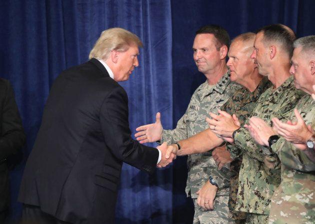 Trump reinventa la estrategia militar de Estados Unidos en su primer año de