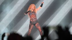 El mensaje de Shakira a Piqué en mitad del concierto en