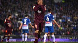 El Barça sufre ante el Espanyol su primera derrota de la temporada