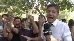 Un reportero chileno cubre una manifestación pro cannabis y acaba como te puedes