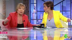 La bronca en directo entre Cristina Pardo y Celia Villalobos en 'Liarla