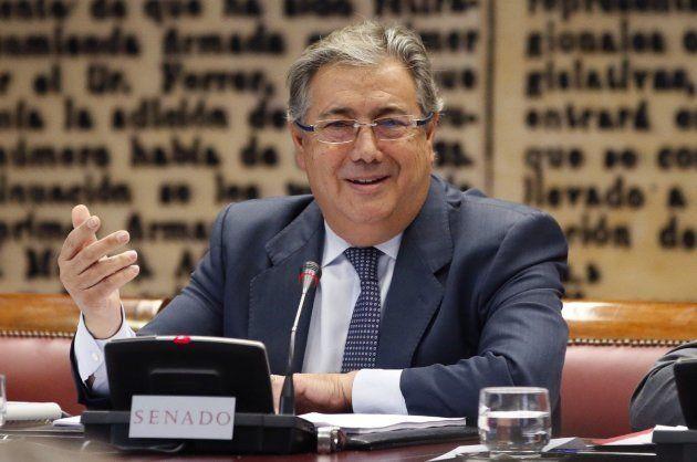 Zoido revela que el refuerzo policial en Cataluña por el 1-O costó 87 millones de