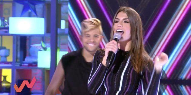 Sofía Suescun canta en 'Viva la