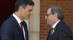 Sánchez y Torra acuerdan reactivar la comisión bilateral y mantener una comunicación