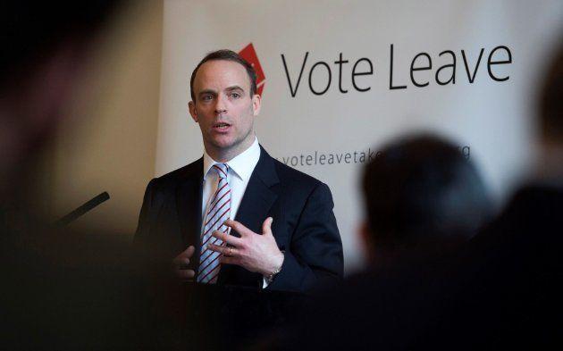Foto de archivo del parlamentario conservador británico Dominic