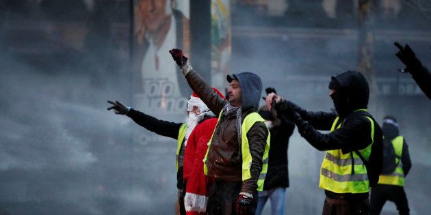 Protesta de los chalecos