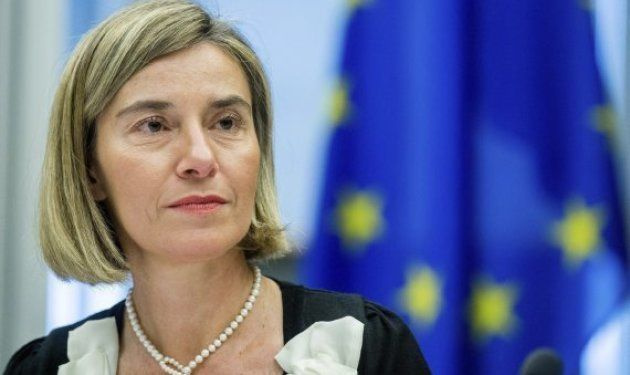 Federica Mogherini, jefa de la diplomacia