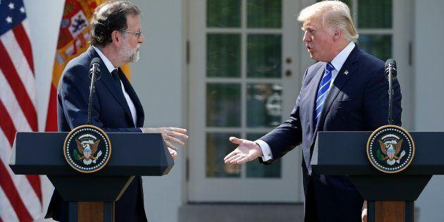 El encuentro en la Casa Blanca entre Rajoy y