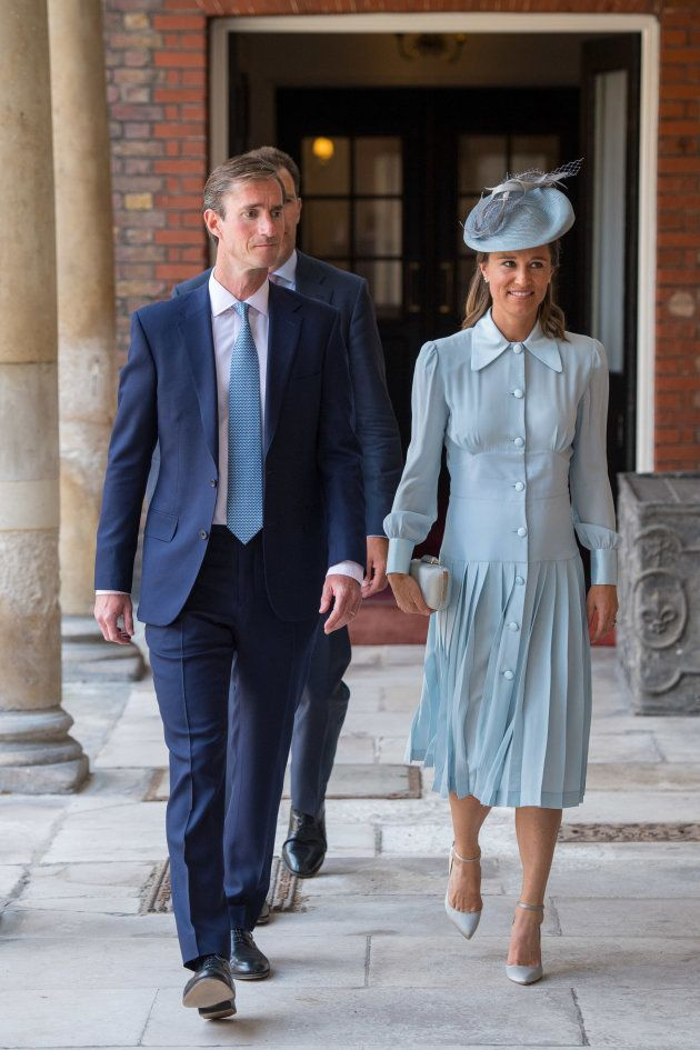 Pippa Middleton y su marido James