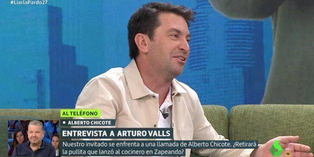 Arturo Valls en 'Liarla
