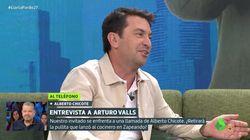 Arturo Valls, en apuros ante Chicote en 'Liarla Pardo' tras bromear con el peso del