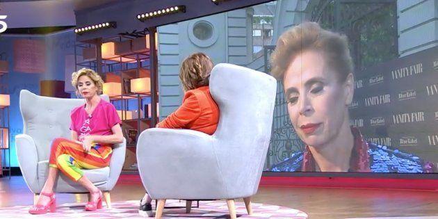 Duras críticas a 'Viva la Vida' y Toñi Moreno por lo que se vio en esta entrevista a Ágatha Ruiz de la