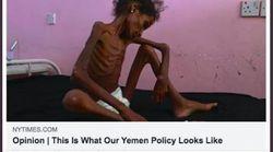 Facebook censura una foto del 'NYT' de la hambruna en Yemen por mostrar