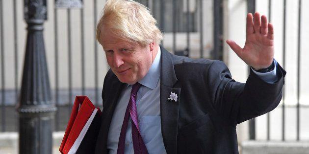 Boris Johnson, en una imagen de