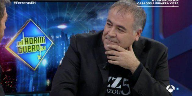 Antonio García Ferreras revela en 'El Hormiguero' lo que Ana Pastor le tiene