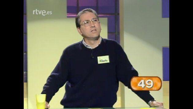 Alberto Sanfrutos, en 'Saber y ganar' el 22 de enero de