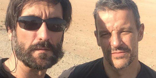 Ricardo García Vilanova y Karlos Zurutuza, en