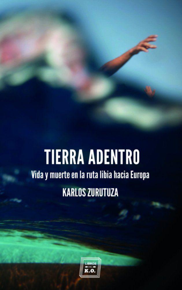 Portada del libro de Zurutuza, con foto de García