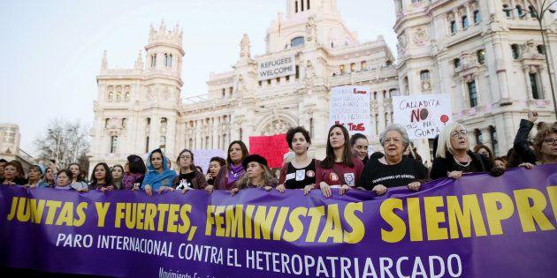Manifestación del 8 de marzo en