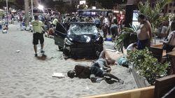 Un coche sin control atropella a un bebé y otras 15 personas en Río de