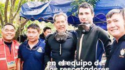Un buzo español, entre los que ayudan en el rescate de los niños atrapados en