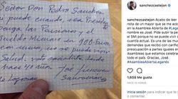 La preocupante nota de un jubilado a Pedro Sánchez que muchos aplauden en