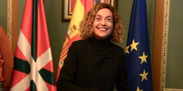 La ministra de Política Territorial y Función Pública, Meritxell Batet, en un acto en