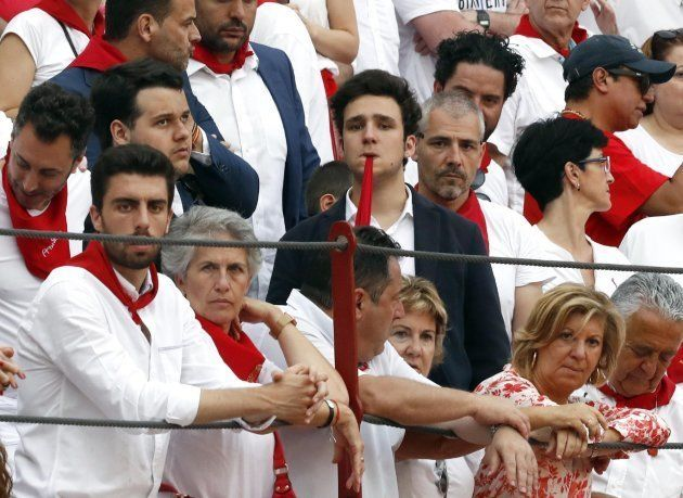 Froilán se salta el protocolo de las fiestas de San Fermín