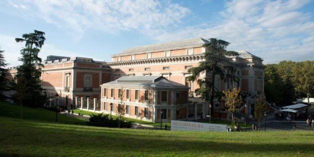 Vista general del Museo del Prado en Madrid.