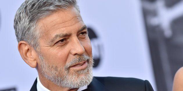George Clooney sufre un accidente de tráfico en