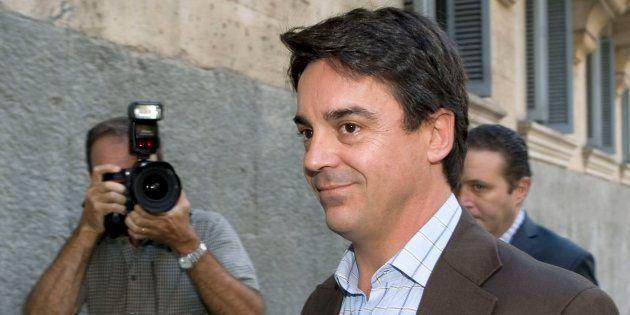 El exconcejal de Urbanismo del PP del Ayuntamiento de Palma, Javier Rodrigo de Santos, a su llegada a...