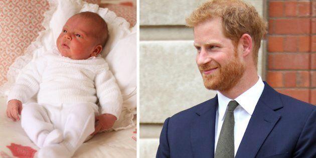 El regalo del príncipe Harry a su sobrino por su bautizo es un guiño a Lady