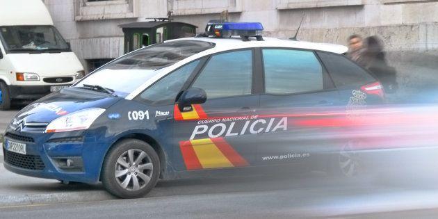 Una patrulla de la Policía, en una imagen de