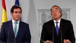 La patronal amenaza al Gobierno: subir los impuestos